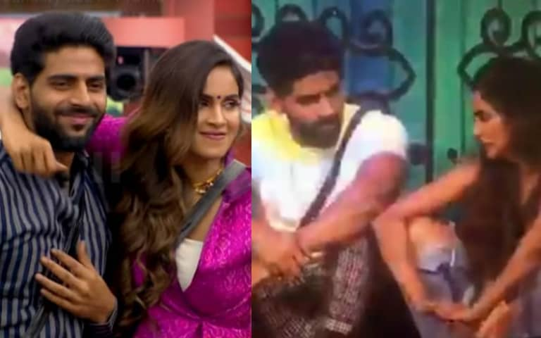 SHOCKING-UNSEEN-VIDEO-Sam-Reveals-Current-Vote-Standing-To-Balaji-Goes-Against-Bigg-Boss-Rules