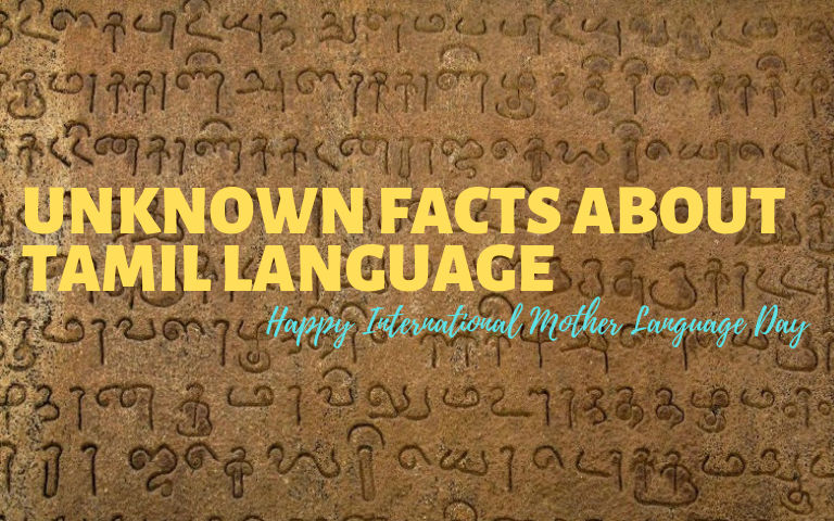 Facts-About-Tamil-The-Oldest-Surviving-Language
