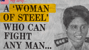 Woman Of Steel Who Rescued Underage Girls From Prostitution!