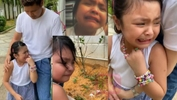 Daddy, I'm Not Ready For This - Netizen Sebak Tengok Lara Alana Nangis Teresak-Esak Gara-Gara...