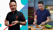 Jom Level Up Skil, Masak Chicken Roulade Stuffed with Spinach & Menu Lain Secara Virtual Bersama Chef Sherson Lian
