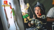 #GempakSpot: This Talented 5-Year-Old Is Already A Master Puppeteer In Wayang Kulit