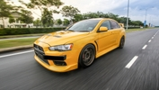 Mitsubishi Evolution X Naik Taraf Versi Final Edition