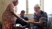 This Gold Hearted Senior Citizen Shelters Her Former Neighbour, Who Has No Surviving Relatives