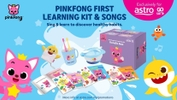 World's First English 'Pinkfong First Learning Kit' Now Available on Astro