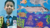SJKT Student Wins Top Prize in International Fish-Drawing Contest!