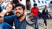 Vignesh Shivn and Nayanthara's Luxury Flight to Cochin!