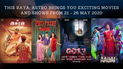 Highlights: Check Out This Year's Raya-Special Movies & Shows on Astro!