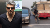 Ajith Spotted Riding Bicycle In Hyderabad. Check Out The Trending Pics!