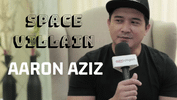 Quick Chat With Space Villain Aaron Aziz!