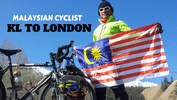 This Inspiring Malaysian Cycled All The Way From KL To UK