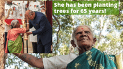 106-Year-Old 'Mother of Trees' Feted With 'Padma Shri' Award For Her Green Initiative