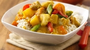 Spicy Thai Pineapple Chicken Curry