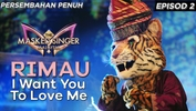 Rimau - I Want You To Love Me | The Masked Singer Malaysia