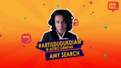 #ArtisDudukDiam bersama the legendary Amy Search