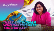 Ulagam Heroes│Meet The Woman Who Bakes 'Saree' You can Eat