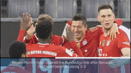 Breaking News - Bayern retain Bundesliga title