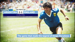 Hand of God - Maradona's defining moment