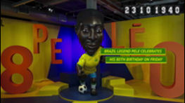 Brazil legend Pele celebrates 80th birthday