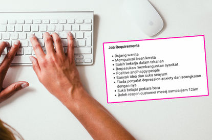 'Single', 'No Depression': Local Company's Sexist Job Advertisement Riles Up Netizens
