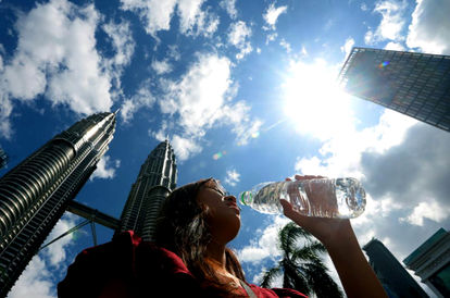 Bringing The Heat: The Scorching Hot Weather Is Expected To Last For A Few More Weeks