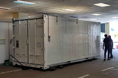 The Grim Story Behind This Storage Container Parked Outside Sg Buloh Hospital