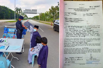 a-woman-in-putrajaya-was-fined-rm2-000-for-visiting-on-duty-police-husband-at-roadblock