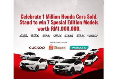 Honda Celebrates A Million Vehicles Sold Here With A Massive Giveaway And Carnival