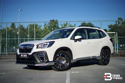 REVIEW] Subaru Forester Charms With Rugged Looks And Versatility