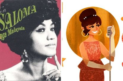 Google Doodle Features Legendary Star Saloma