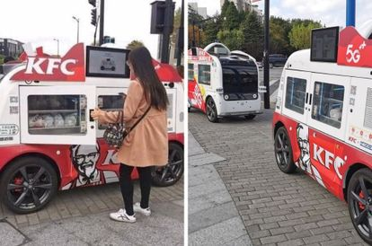 kfc-china-introduces-driverless-food-trucks-amidst-covid-19-pandemic