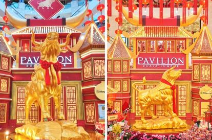 Mall Welcomes The Year Of The Ox With A Record-Breaking Display
