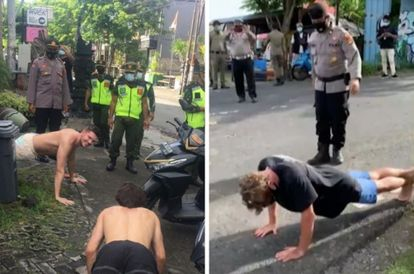 creative-punishments-those-caught-not-wearing-masks-forced-to-do-push-ups-in-bali
