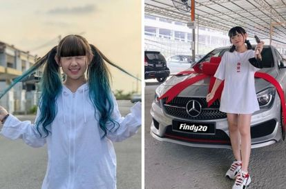 21-year-old-malaysian-youtuber-buys-second-car-a-mercedez-benz-with-income