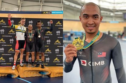 Azizulhasni Awang Is Now The First Non-Australian To Win The Australia National Track Championships
