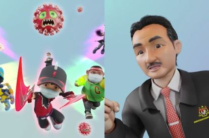 [VIDEO] DG Hisham Becomes A Superhero In 'BoBoiBoy' To Fight COVID-19; Netizens Love It
