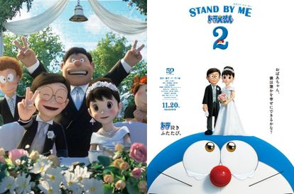 doraemon-is-trending-because-netizens-found-out-that-nobita-finally-marries-shizuka-in-film