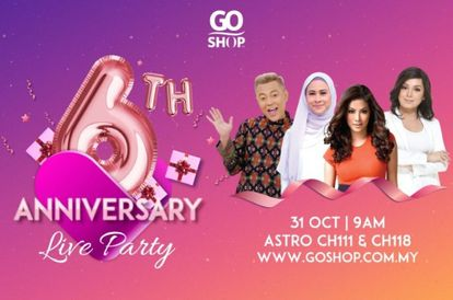GO Shop Celebrates Its 6th Anniversary With A Live Party