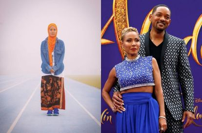 Jada Smith Stuns Netizens After Wearing A Hijab And 'Kain Batik' On Morning Run With Will Smith