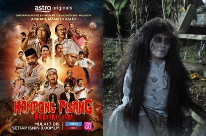 From The 'Hantu Kak Limah' Universe, Comes A New TV Series 'Kampong Pisang Bersiri-Siri'