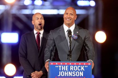 The Rock Hints That He Might Run As The Next US President Soon