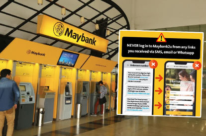 Scam Alert! Maybank Warns Customers Of New Fake Website That Wants To Steal Your $$$