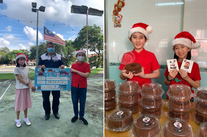 Siblings Raise Over RM2,400 From Bake Sell To Help Grant Wishes Of Children With Terminal Illnesses