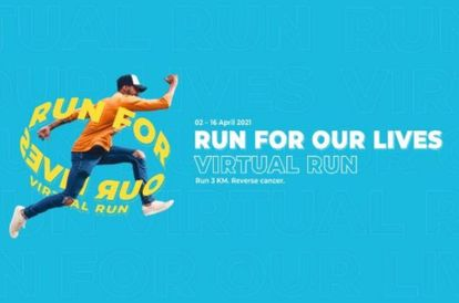 Join 'Run For Our Lives' Virtual Run To Mark 'Reverse Cancer Day'