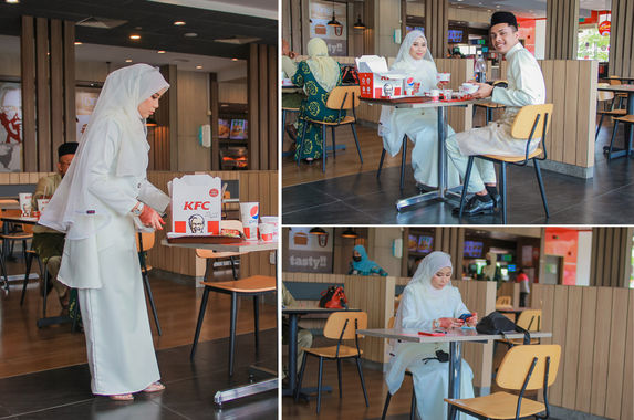 undeterred-by-the-mco-this-malaysian-couple-threw-their-wedding-luncheon-at-a-kfc-restaurant