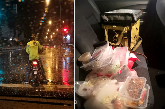 woman-goes-out-of-her-way-to-help-food-delivery-rider-stranded-in-heavy-rain