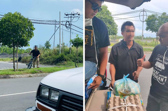 sabah-man-chases-after-aid-van-on-bicycle-to-ask-for-food-for-his-family