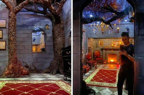 man-turns-bedroom-into-harry-potter-world-complete-with-an-amazing-enchanted-ceiling