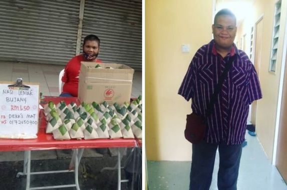 disability-not-a-deterrent-for-mohamad-nor-who-opened-his-dream-nasi-lemak-stall