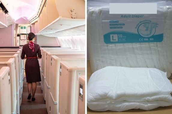 chinese-officials-recommend-flight-attendants-wear-diapers-to-avoid-contracting-covid-19